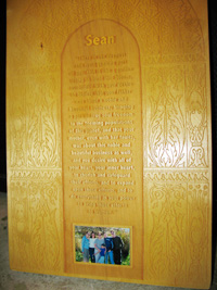 wide plaque